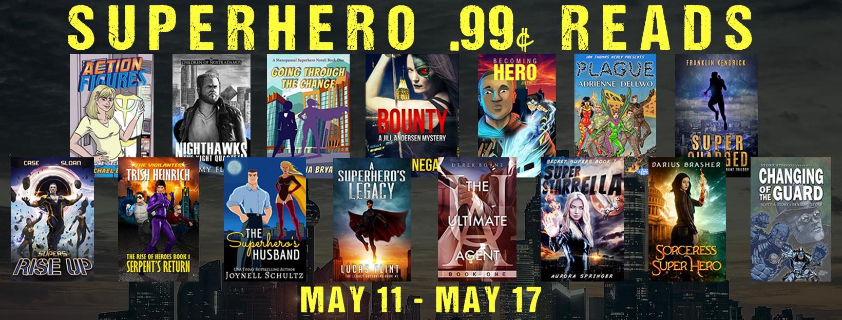 Superhero Fiction Sale 2